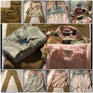 Size Large Lot- Size 12 H&M Skinny Pant and 4 Tops